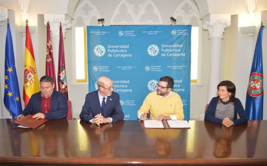 La UPCT y Agromarketing firman un convenio para ampliar su colaboración tras el congreso