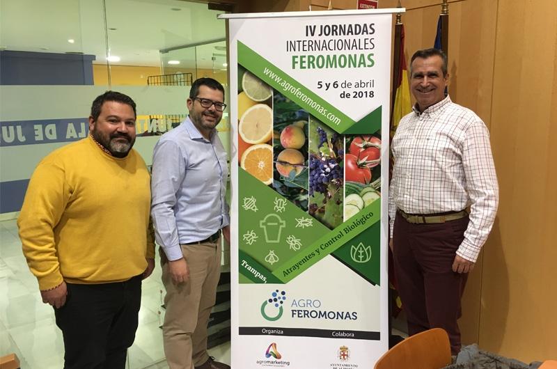 Coexphal apuesta por Agromarketing para las IV Jornadas Internacionales de Feromonas de Almería