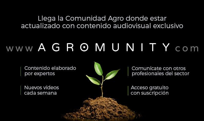 Se pone en marcha Agromunity, una plataforma con contenidos exclusivos relacionados con el sector agrícola.